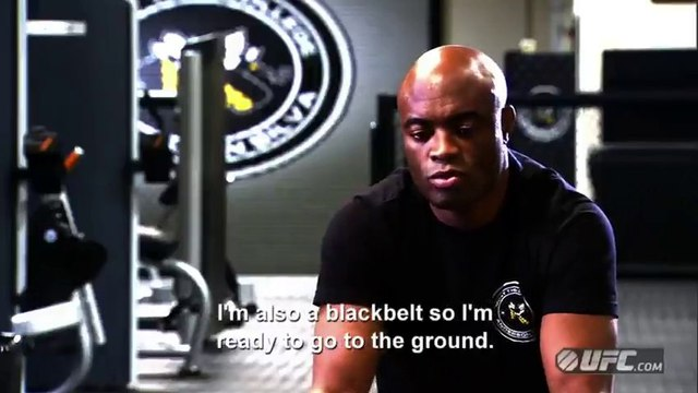 UFC 168: Anderson Silva Pre-Fight Interview