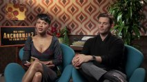 Anchorman: The Legend Continues - Exclusive Interview With James Marsden & Meagan Good