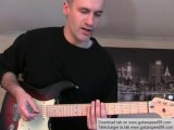 Cours de guitare - Castles Made Of Sand (Jimi Hendrix)