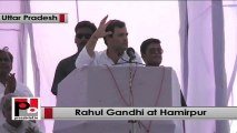 Rahul Gandhi : Your voice has reached Delhi but in Lucknow