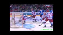 Хоккей Россия - Финляндия 2013 гол 0:1 Олли Палола