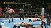 Jushin Thunder Liger, Tiger Mask & TenKoji (Hiroyoshi Tenzan & Satoshi Kojima) vs Yuji Nagata, Manabu Nakanishi, KUSHIDA & BUSHI (NJPW)