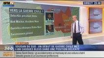 Harold à la carte: la guerre civile qui menace le Soudan du Sud met 6 800 Casques bleus dans une position délicate - 22/12