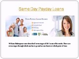 Same Day Payday Loans | Easy Quick | Fast Cash Loans.