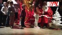 Peltre le Père Noël au CSE Les Pel'tiots