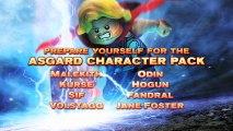 LEGO Marvel Super Heroes (PS3) - Nouveau pack de personnages : Thor.