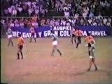 DEPORTIVO CALI VS CLUB DEPORTIVO AGUILA (SAL) 1987