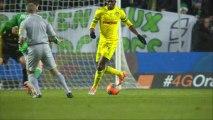 But Benjamin CORGNET (24ème) - AS Saint-Etienne - FC Nantes - (2-0) - 21/12/13 (ASSE - FCN)