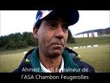 ASA Chambon Feugerolles - AC Seyssinet Réactions de BERNARD BOUVARD, GARY PERRIN, TOLGAHAN OCAK ET AHMED SAADI