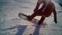 Chute en ski !! sa pourai passer dans video gag MDR