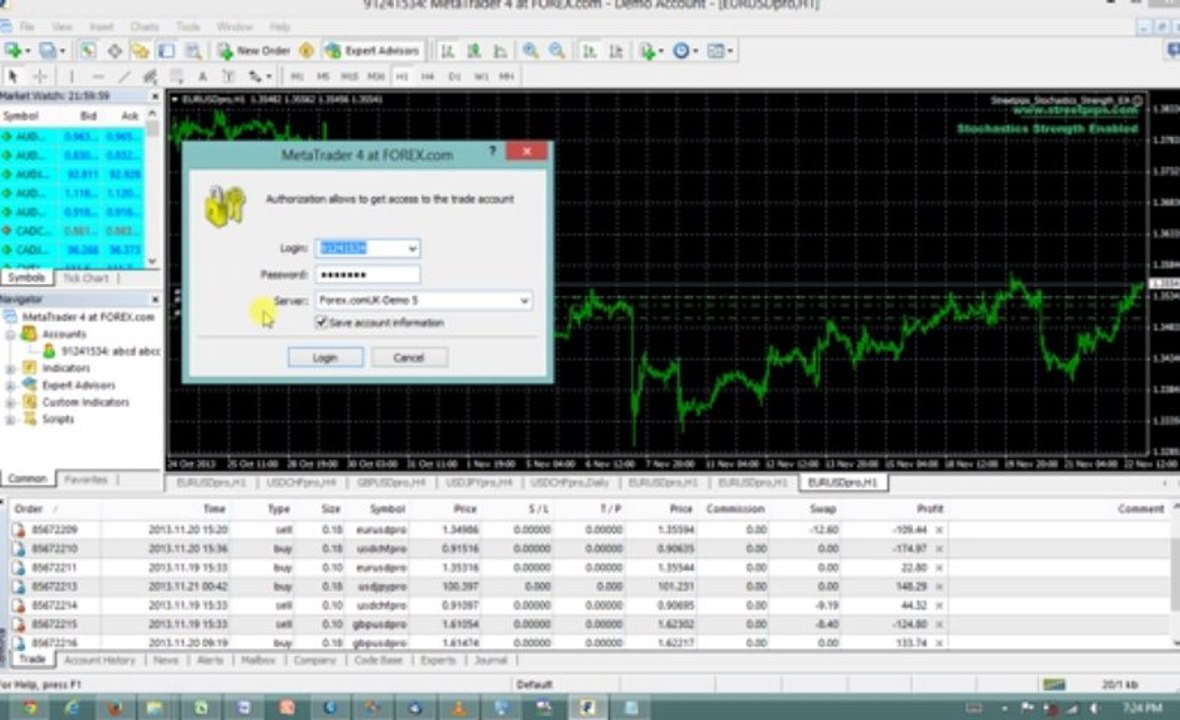 How to link MT4 to your forex broker