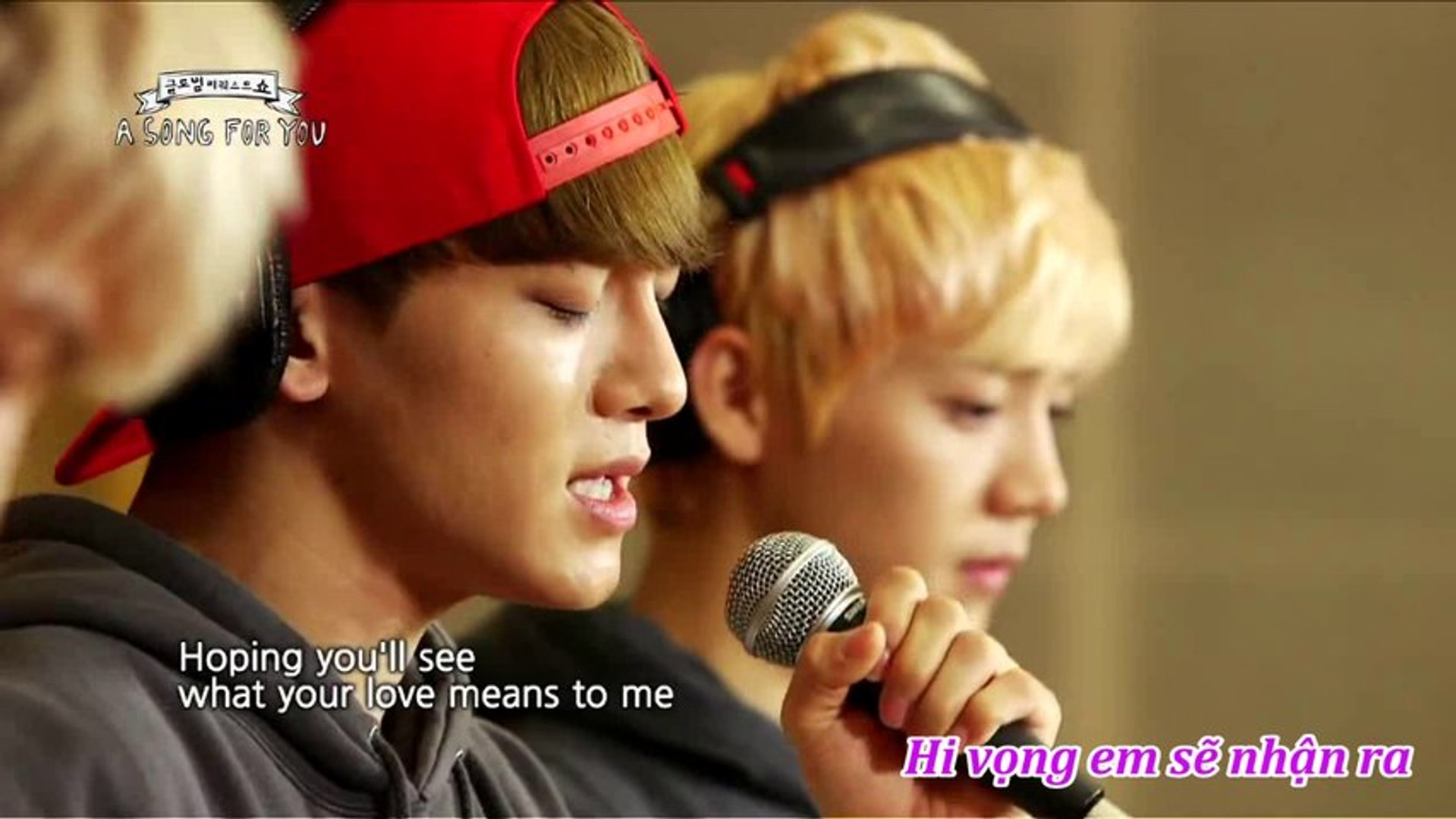 [vietsub]  Open Arms by EXO (Global Request Show - A Song For You 2013.08.23)