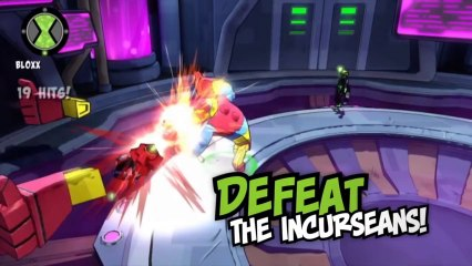 Ben 10 Omniverse 2  - Fight against the Incurseans