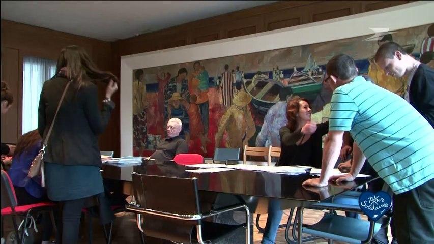Présentation du foyer de Cachan par Francoise Eslinger / Groupe La Poste - Tous formidables - Tous solidaires