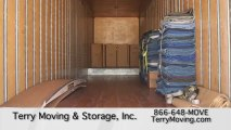 Storage Movers in Orange County - Terry Moving & Storage