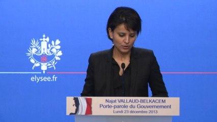 """Boutade sur l'Algérie: """"le sujet est clos"""" pour Najat Belkacem"""