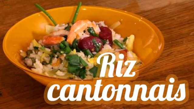 Riz cantonnais traditionnel