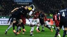 Série A : L'Inter Milan tient tête au Milan AC (1-0) et la Juventus de Turin ne fait qu'une bouchée de l'Atalanta Bergame (4-1)