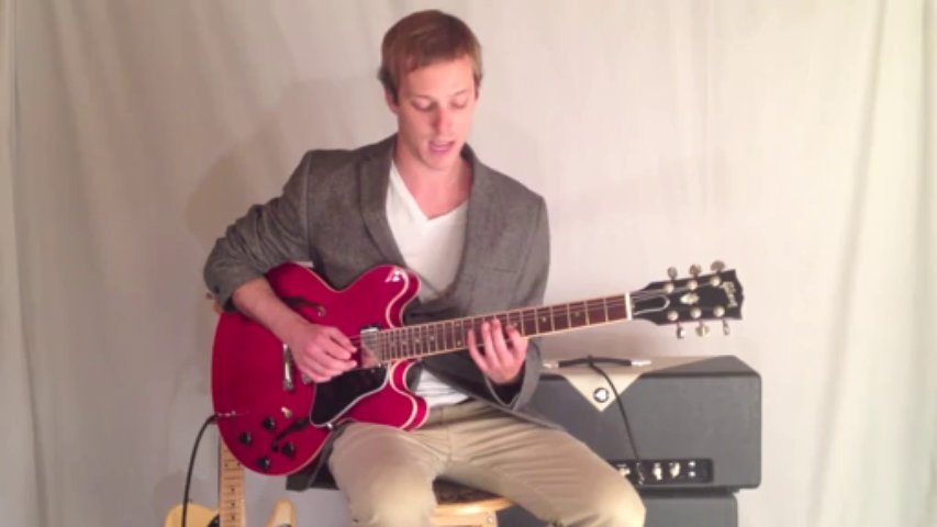 Guitar Lesson with Bebop Lick and a Cool Modern Jazz Sound. Nice jazz guitar lesson%21