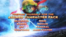 LEGO Marvel Super heroes (XBOXONE) - Thor présente le pack de personnages Asgard