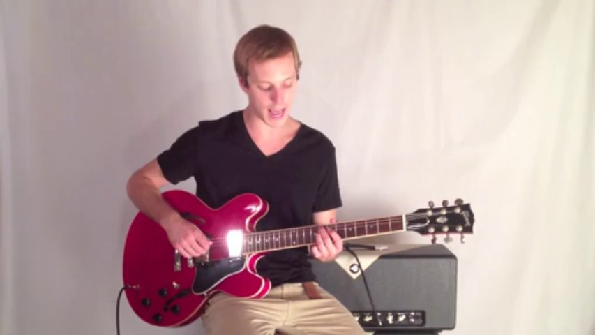 Jazz Guitar Lesson- How to play Jazz Guitar in the style of Freddie Green – Jazz Comping