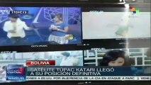 Satélite boliviano Túpac Katari ocupó su órbita definitiva