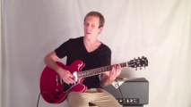 Jazz Guitar Lesson- Jazz Chord Melody in the Style of Barney Kessel