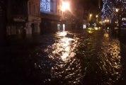 Tempête. Inondation à Morlaix