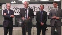 François REBSAMEN soutient VIVRE TALANT 2014