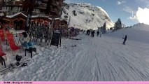 GoPro ski, à Avoriaz le 21-12-13 avec le CLSB de Bourg en Bresse