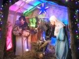 La maison des lumières de Noël à Lourdes