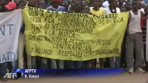 Centrafrique : manifestation contre la France à Bangui