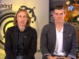 Bale y Modric os desean una feliz Navidad