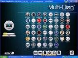 How to setup 2013-II Multi-Di@g Access J2534 Pass-Thru OBD2 Device