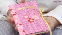 Décorer un carnet avec du papier japonais