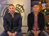 Benzema y Varane os desean una feliz Navidad