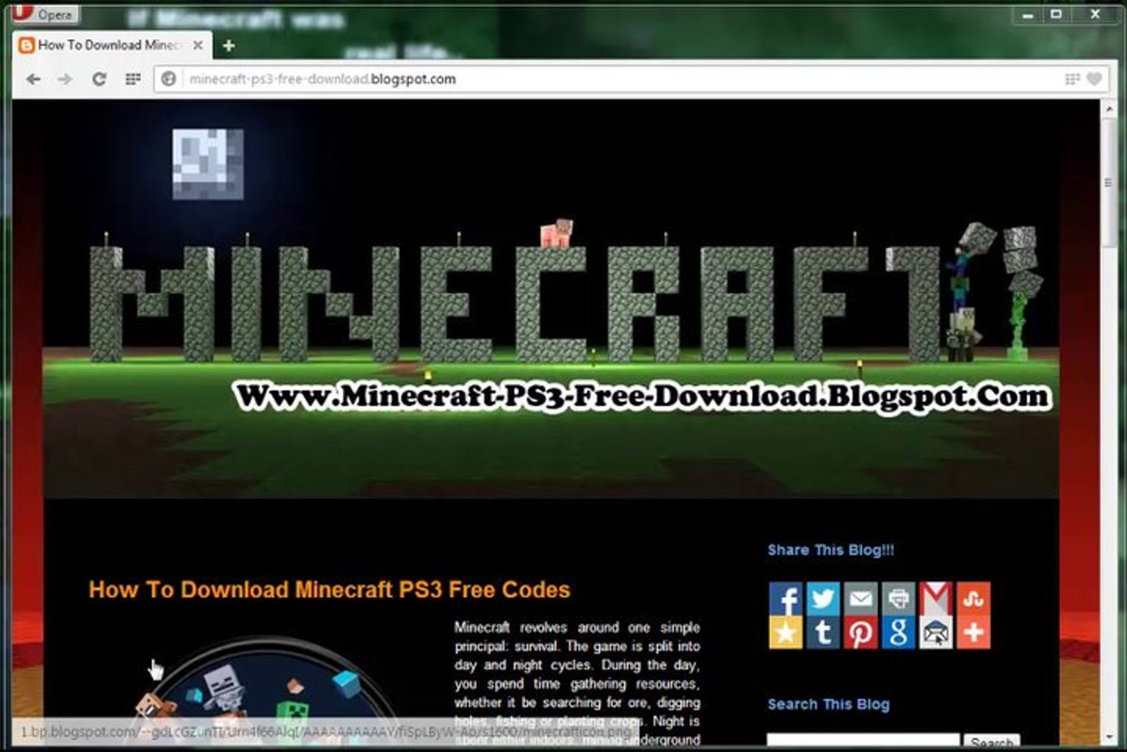 How To Unlock Install Minecraft Game Ps3 Video Dailymotion