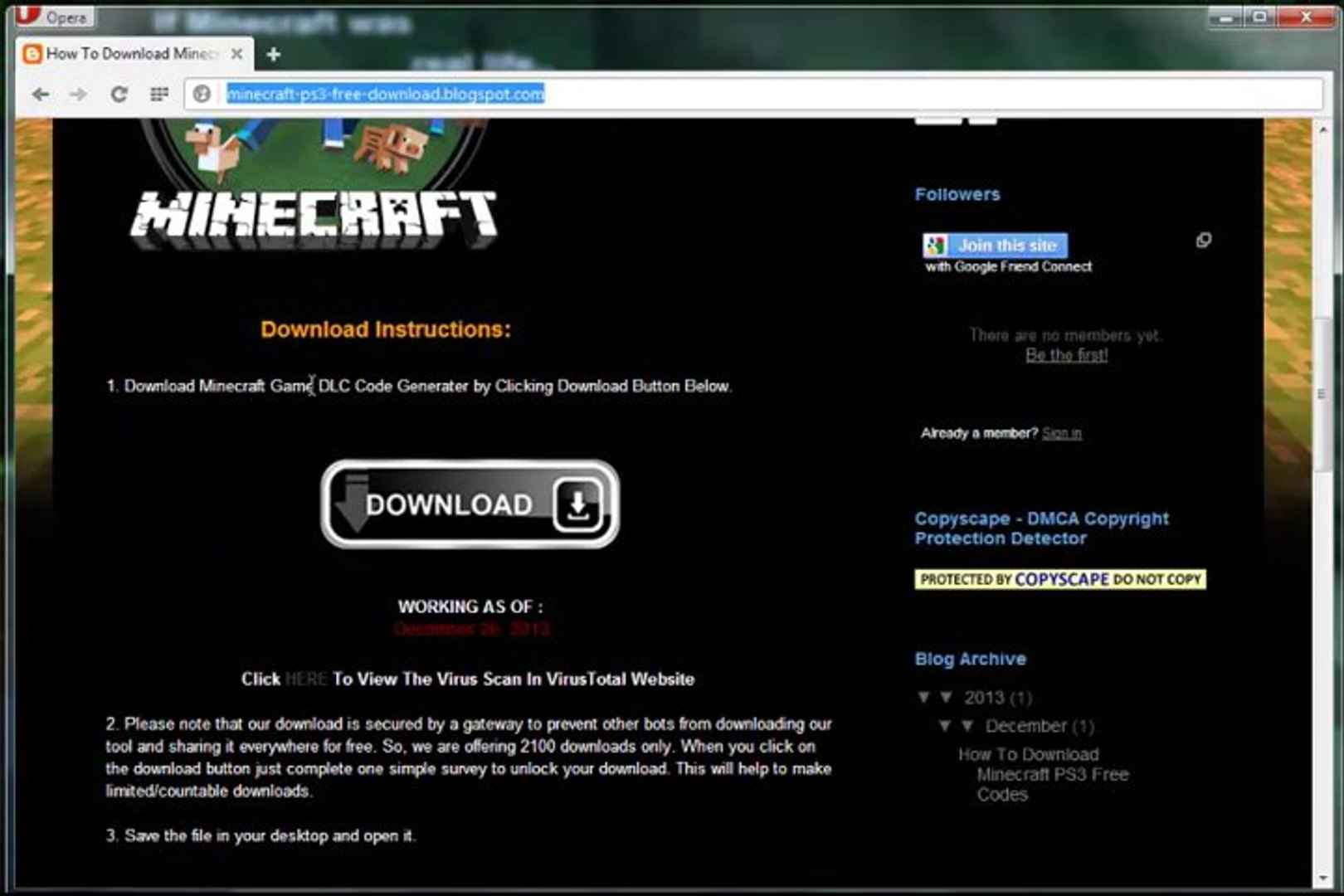 minecraft ps3 full game free download