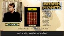 Bryan Adams - (Everything I Do) I Do It For You (Karaoke, no vocal)