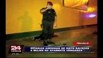 Trujillo: sicarios matan a balazos a una joven en presunto crimen pasional