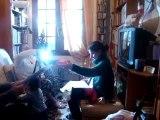 """Chez Papi & Mamie le PREMIER NOËL de notre """"Petit-grand rayon de soleil : notre Yseuline !!!..."""