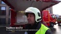 Lomme : le responsable des pompiers dresse un bref bilan de l'intervention sur l'incendie provoqué par les explosions de gaz