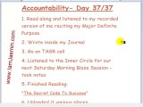 Accountability: Day 37 of 37
