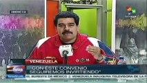 Pdte. venezolano entregó cientos de viviendas
