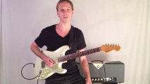 Blues Guitar Lesson - Classic Blues Guitar Lick in the Style of Stevie Ray Vaughan