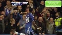 All Goals Chelsea 2-1 Liverpool 29-12-13