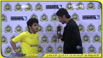 تصريح يحيى الشهري بعد مباراة الأهلي دوري عبداللطيف جميل