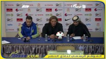 المؤتمر الصحفي للمدرب كارينيو بعد مباراة الاهلي دوري عبداللطيف جميل