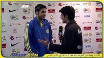 تصريح عبدالله الشمري بعد مباراة الأهلي دوري عبداللطيف جميل