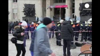 Βίντεο ντοκουμέντο από τη φονική έκρηξη στο Βόλγκογκραντ - euronews, Διεθνή νέα